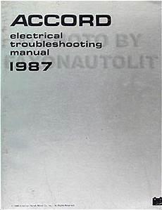 service and repair manuals 1987 honda accord electronic valve timing 1987 honda accord automatic seat belt system repair shop manual supplement