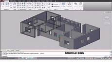 autocad house plan tutorial autocad 3d house modeling tutorial 1 3d home design