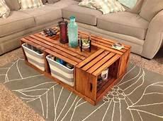 Livingston Way Diy Wine Crate Coffee Table