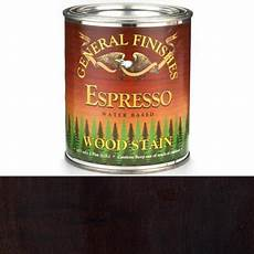 general finishes water based espresso stain pint walmart com