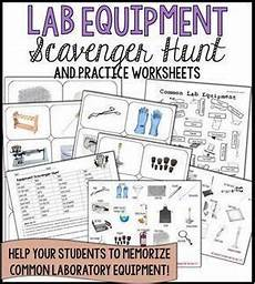 earth science lab practical worksheets 13334 lab equipment scavenger hunt and practice activities lab equipment science process skills