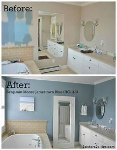 master bathroom paint color reveal small bathroom colors
