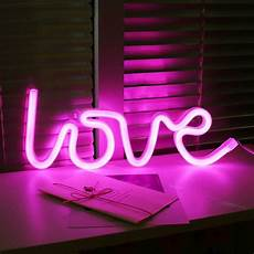 led love neon pink