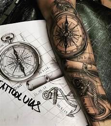 kompass unterarm omg dieses detail folgt inkspiringtattoos tattoolucas