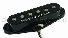 seymour duncan seymour duncan aps 1 alnico ii pro vintage staggered strat black