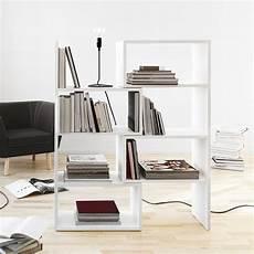 mdf laqué blanc extend biblioth 232 que extensible en mdf laqu 233 blanc