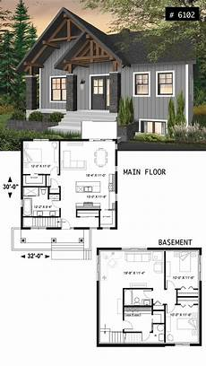 small and affordable bungalow house plan with master