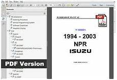 motor repair manual 1999 gmc 3500 user handbook isuzu npr manual ebay