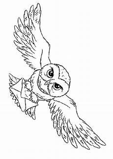 Eule Hedwig Malvorlage Hedwig Search Malvorlage Eule Harry