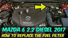 2013 2018 mazda 6 fuel filter replacement how to diy