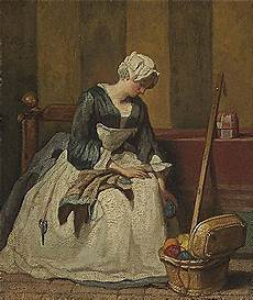 The Kitchen Jean Baptiste Simeon Chardin by Jean Baptiste Simeon Chardin Artist Prices