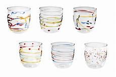 bicchieri galbiati bicchieri colorati idee per apparecchiare la tavola