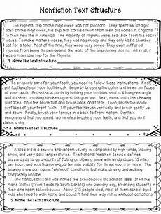 informational text structure worksheet by deb hanson tpt