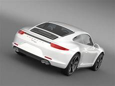 Porsche 911 50 Year Edition 2013 3d Model Buy Porsche