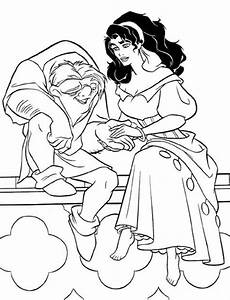 Quasimodo Malvorlagen Quasimodo Holding Esmeralda In The Hunchback Of Notre
