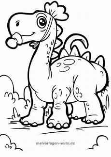 Ausmalbilder Dinosaurier Zum Drucken Malvorlage Dinosaurier