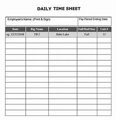 basic time sheet free 17 sle daily timesheet templates in docs sheets excel ms word