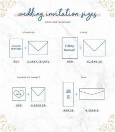 Average Size Of Wedding Invitation