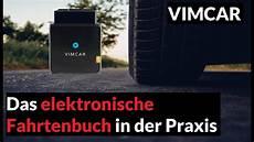 vimcar erfahrungen das elektronische fahrtenbuch in der