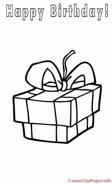 Malvorlagen Gratis Geschenke Geschenk Zum Geburtstag Malvorlage Gratis