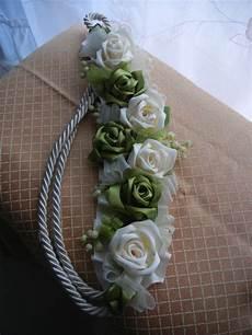fiori per tende embrasse fermatenda reggitenda artigianale di raso