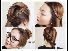 4 back to school hairstyles youtube