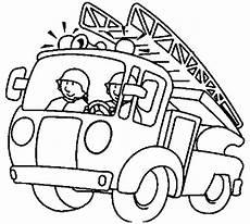 Ausmalbilder Feuerwehr Gratis Feuerwehrwagen 2 Ausmalbild Malvorlage Feuerwehr