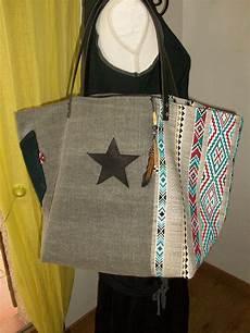 sac en tissu sac cabas en toile de 233 pais et tissu ethnique