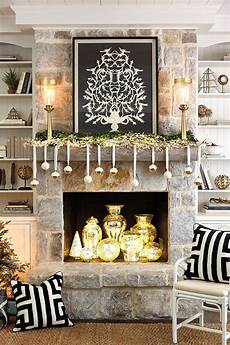 Decorations For Mantels by 3 Festive Fireplace Mantels How To Decorate