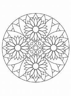 Malvorlage Blumen Mandala Blumenmandala 2 Wood Carving Malvorlagen Mandala