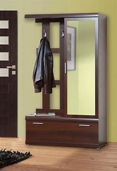garderobe mit spiegel garderobe dielenset mit spiegel nussbaum imperial neu