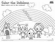 colors of the rainbow worksheets 12805 roy g biv with rainbow coloring sheet coloring pages