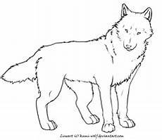 coloring pages 17621 eternal tiger and wolf lineart by wildspiritwolf on deviantart