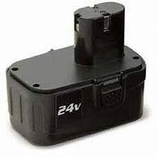 24 volt replacement battery for 22160 cordless impact