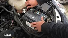 how to change astra h battery