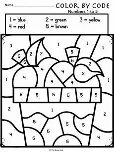 color by number coloring pages for kindergarten 18051 color by code apple worksheets kindergarten math numbers 1 to 5 kindergarten math