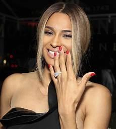 similarities between kim kardashian and ciara s engagement rings hello