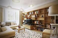 Brown Living Room Interior Design Ideas