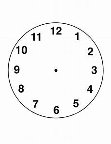 free blank clock faces worksheets printable shelter