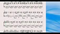 valzer delle candele spartito valzer in do maggiore per pianoforte spartito yari