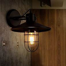vintage rh loft industrial wall light edison wall l for bar cafe us 47 99