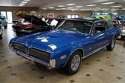 1968 Mercury Cougar XR7 0 Nordic Blue  Classic