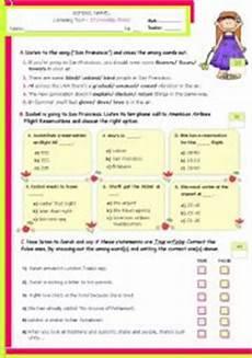 english teaching worksheets listening comprehension