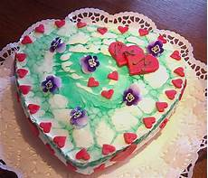 Mai Rezept - mai torte mit waldmeister dickmilch creme