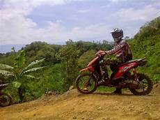 Beat Modif Trail by Modifikasi Motor Honda Beat Trail Thecitycyclist
