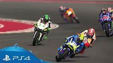 motogp 17 career mode trailer ps4