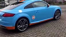 Audi Tt 8s - audi tt 8s foliert im gulf design by foliencenter nrw