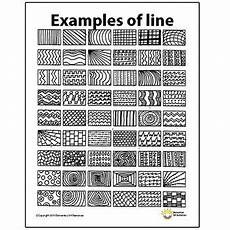 line patterns worksheets 152 line pattern handout one page elements of principles of design visual arts worksheets