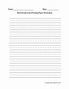 writing worksheets for 3rd grade free 22915 writing worksheets lined writing paper worksheets