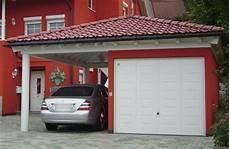 Carport Garage Kombination Holz - garagen mit dachaufbauten auch als carport garage